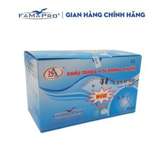 Khẩu trang y tế 4 lớp kháng khuẩn Famapro 4U ( 50 cái/ hộp )