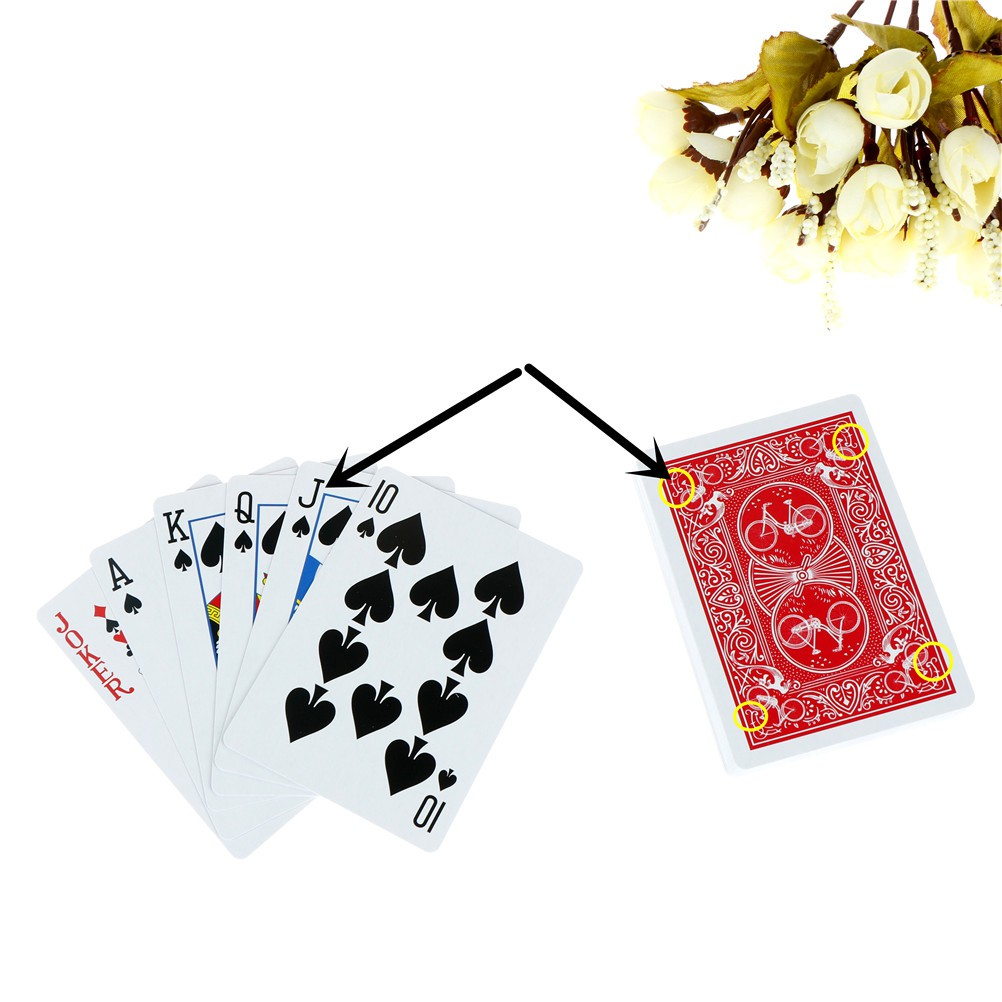Youyimaoli Magic Cards Marked Stripper Deck Playing Cards Poker Magic Tricks Kid Toy