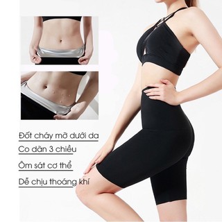 [Cỡ Ngắn] Quần legging, quần tập định hình, tiêu mỡ, giảm cân BORN UNCOMMON