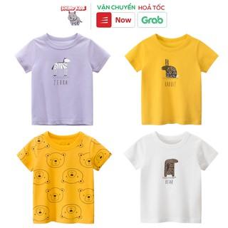 Áo thun cho bé gái 27Home in hình động vật cute chất liệu cotton an toàn cho bé hàng chuẩn xuất Âu Mỹ thumbnail