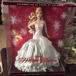 Búp bê Barbie Holiday 2008