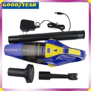 Máy hút bụi cầm tay sạc pin không dây khô và ướt thương hiệu Goodyear GY-2891 - Công suất: 75W - Lực hút 3000mbar