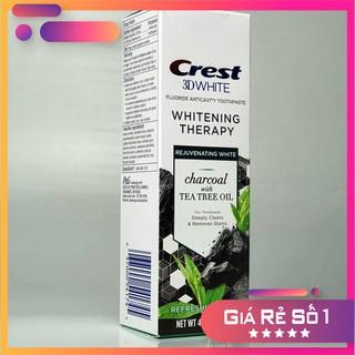 [Mẫu mới-Cao cấp nhất][Giá Sốc] [Hàng cho thị trường Mỹ] Kem đánh răng Crest 3D White Charcoal TEA TREE OIL 116gr