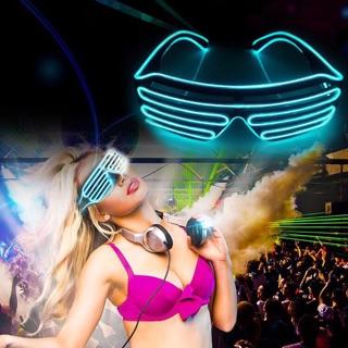 MẮT KÍNH ĐÈN LED PARTY DJ CAO CẤP