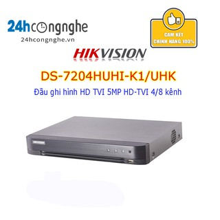 Đầu ghi hình HD TVI 5MP HD-TVI 4/8 kênh - Không hỗ trợ cổng Alarm