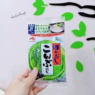 [Ajinomoto] Hạt nêm cá cơm, tảo bẹ, bò, nấm, rong biển gói nhỏ 3