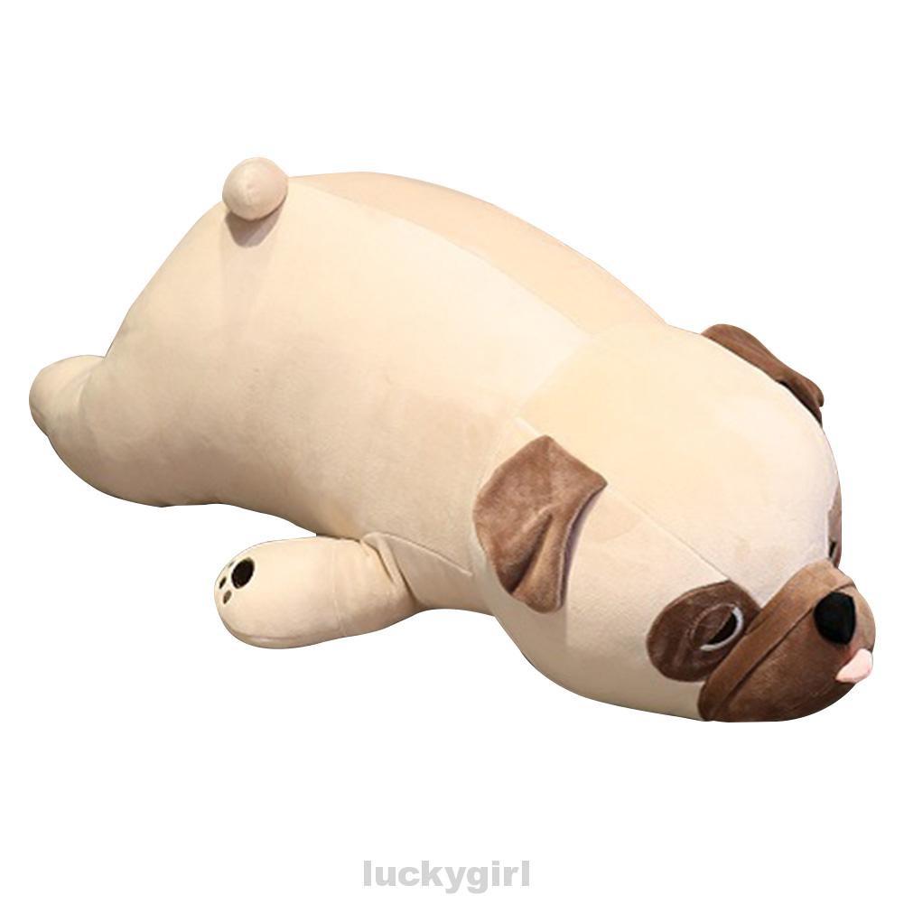 Home Living Room Bedroom Cute Birthday Gift Sofa Sleeping 55cm Pug Dog Soft Stuffed Children Kids Plush Toy