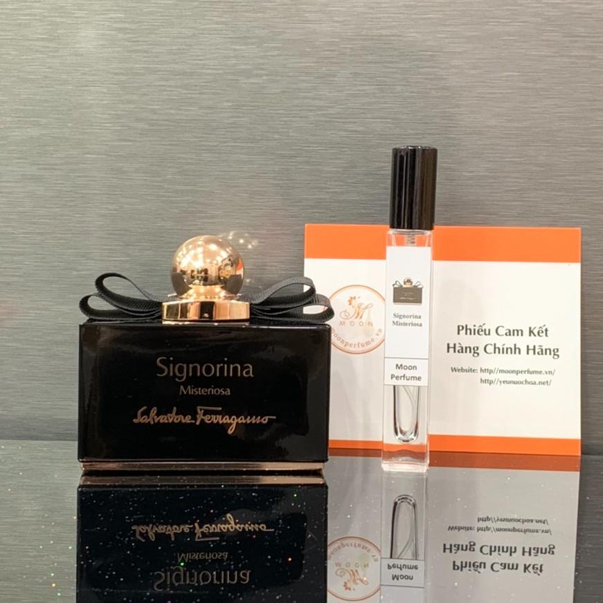 [Mẫu thử] Tổng hợp nước hoa nữ Salvatore Ferragamo Signorina EDP, Misteriosa, Ribelle