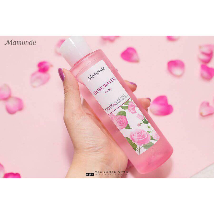 Nước hoa hồng Mamonde Rose Water Toner 250ml - 2622657 , 1081395429 , 322_1081395429 , 350000 , Nuoc-hoa-hong-Mamonde-Rose-Water-Toner-250ml-322_1081395429 , shopee.vn , Nước hoa hồng Mamonde Rose Water Toner 250ml