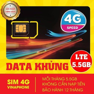 Bán Sim 4G Vina D500 1 năm- 170k/Sim -5Gb/tháng-sử dụng 12 tháng không cần nạp thẻ