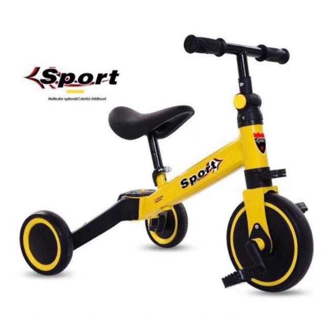 Xe chòi chân, xe thăng bằng SPORT - Có bàn đạp 3 in 1