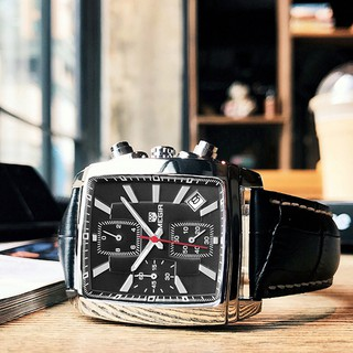 Đồng hồ đeo tay thạch anh MEGIR chống nước thời trang thể thao cho nam