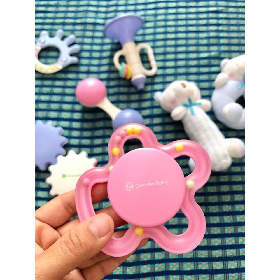 Set đồ chơi sơ sinh Goryeo Baby 9 món cho bé 0-18 tháng