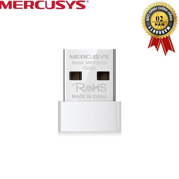 USB thu sóng Wifi tốc độ 150Mbps MERCUSYS MW150US - Hãng Phân phối chính thức - 10067688 , 876946272 , 322_876946272 , 109000 , USB-thu-song-Wifi-toc-do-150Mbps-MERCUSYS-MW150US-Hang-Phan-phoi-chinh-thuc-322_876946272 , shopee.vn , USB thu sóng Wifi tốc độ 150Mbps MERCUSYS MW150US - Hãng Phân phối chính thức