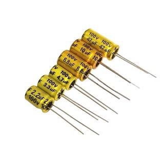 Tụ không phân cực 100V 10x16 phân tần và bảo vệ loa treble