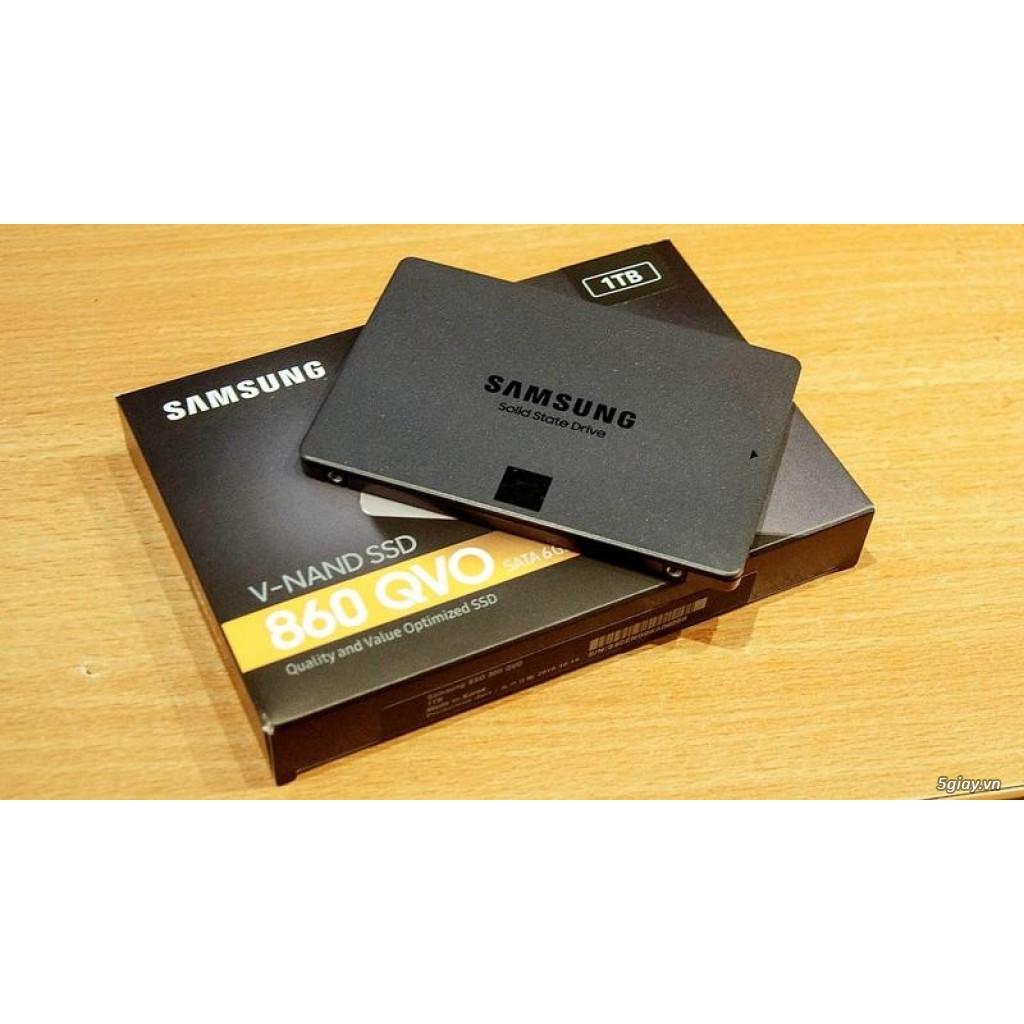 Ổ cứng SSD samsung 860 QVO 1TB Giá chỉ 2.390.000₫
