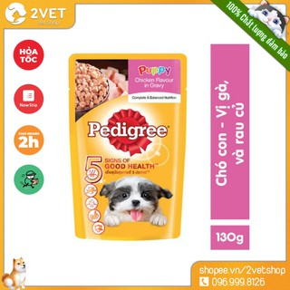 Pate Pedigree 130g - Đồ Ăn Cho Cún Yêu - Thức Ăn Giàu Dinh Dưỡng - Nhiều Vị Đa Dạng - Đặc Biệt Hấp Dẫn Với Chó Nhỏ thumbnail