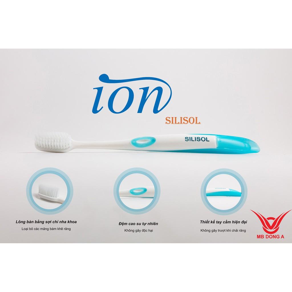 Bàn chải đánh răng cao cấp Hàn Quốc Ion Silisol plus (3 màu)