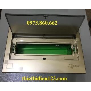 Tủ điện âm tường cao cấp Merlineu đế sắt 8 vị trí - 12 vị trí -TBĐ -Thiết bị điện giá tốt thumbnail