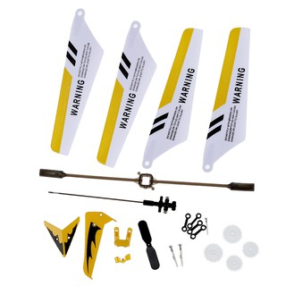 Ready Stock Full Set Replacement Parts for Syma S107 RC Helicopter, Main Bla