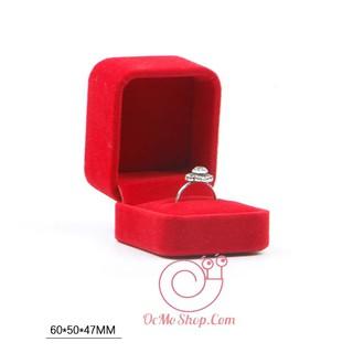 Hộp Đựng Nhẫn Bằng Nhung, Hộp đựng nhẫn cưới bằng nhung