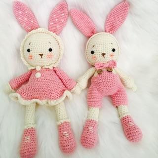 Cặp thỏ mimi và miti