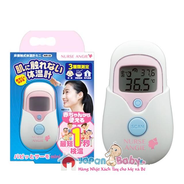 Nhiệt kế đo trán Nurse Angi Nhật Bản: đo nhiệt độ cơ thể, sữa, nước tắm, nhiệt độ phòng.. - 2924602 , 1141852579 , 322_1141852579 , 700000 , Nhiet-ke-do-tran-Nurse-Angi-Nhat-Ban-do-nhiet-do-co-the-sua-nuoc-tam-nhiet-do-phong..-322_1141852579 , shopee.vn , Nhiệt kế đo trán Nurse Angi Nhật Bản: đo nhiệt độ cơ thể, sữa, nước tắm, nhiệt độ phòn