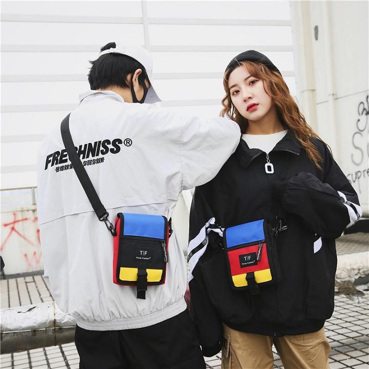 Túi Đeo Chéo Nam Nữ túi vải canvas Nhỏ Gọn Tiện Dụng NH303