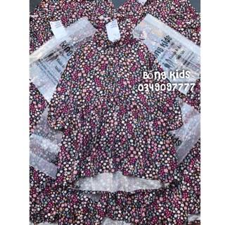 Váy Thu Bé Gái Cổ Đức Hoa Nhí HM