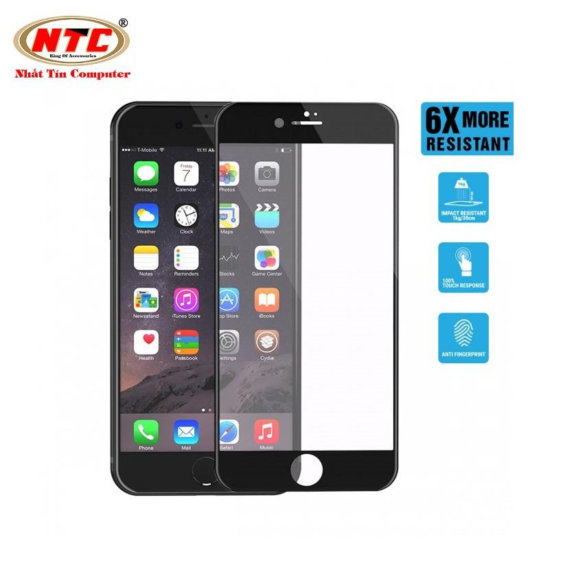 Miếng dán màn hình Energizer iPhone 7/8 HC Siêu Mỏng 0,2mm - ENSPPRCLIP7 (Đen) - Hãng phân phối chín