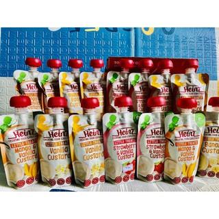 Váng sữa hoa quả nghiền HEINZ Úc cho bé từ 6 tháng [DATE NEW 10/11/12]