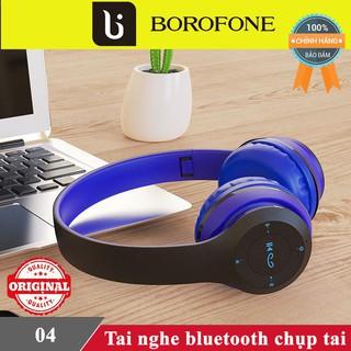 Tai nghe bluetooth chụp tai chính hãnh Borofone 04♥️Freeship♥️ Tai nghe blutooth chính hãng Borofone
