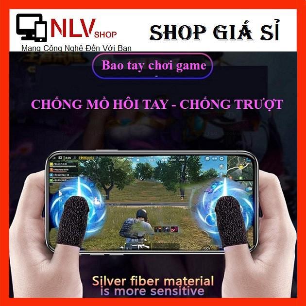 ⚡ Bộ Bao 2 Ngón Tay Chuyên Dụng Chơi Game Mobile Chống Ra Mồ Hôi Tay ⚡