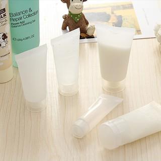 Tuýp nhựa chiết mỹ phẩm đựng sữa tắm kem phấn 10ml 20ml 30ml 50ml 100ml đi du lịch để vali hành lý