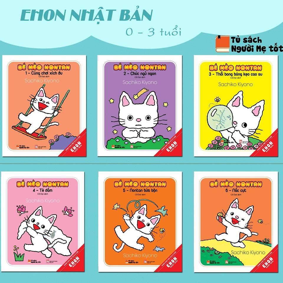 Combo Bé Mèo Nontan (Bộ 6 Cuốn)