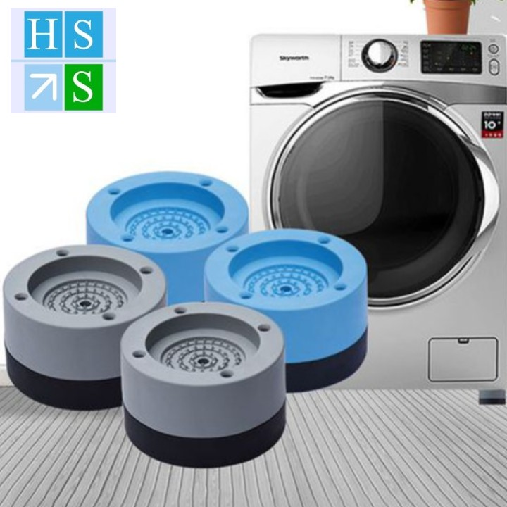 (Chính hãng) Bộ 04 chân kê máy giặt TABI HOME chống rung, chống ồn, chống xe dịch giúp tăng tuổi thọ máy giặt hiệu quả