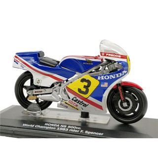 Italeri 1:22 Honda NS500cc WC1983 F.Spencer Diecast Model Motorcycle