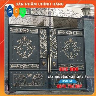 Giá cửa sắt sơn tĩnh điện – Báo giá cửa sắt CNC tại Tuyên Quang