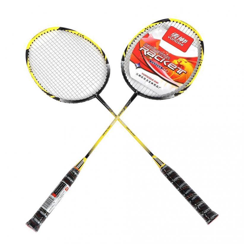 Cặp vợt cầu lông chuyên dụng chất lượng cao kèm túi đựng