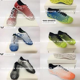 Giày đá bóng Trẻ Em CR7 Mercurial size 30-37 - Khâu kín đế - Tặng Tất thumbnail