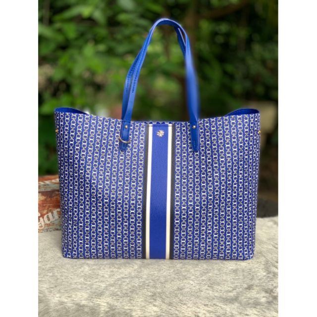 Jewel Blue  TORY BURCH GEMINI LINK TOTE