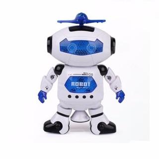 Robot xoay nhảy múa 360 độ có đèn