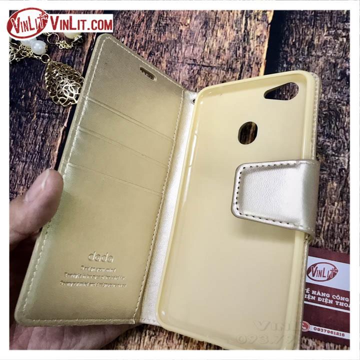 Ốp lưng Oppo F5 Bao da Oppo F5 ( Vàng ) OF5181016A6