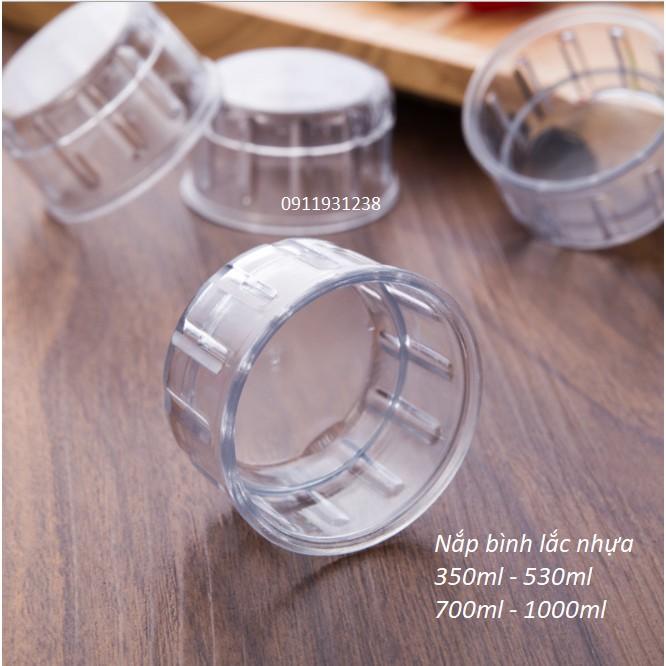 Nắp bình lắc shaker pha chế nhựa ( dành cho bình 350ml - 500ml - 700ml - 1000ml)