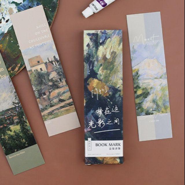 Bookmark cảnh tự nhiên hộp 30 tấm