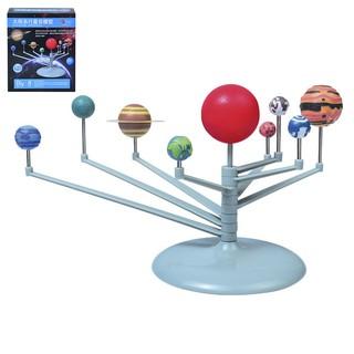 1 Pcs Nine Planets Toys Educational Diy Explore Solar System Painting Toys