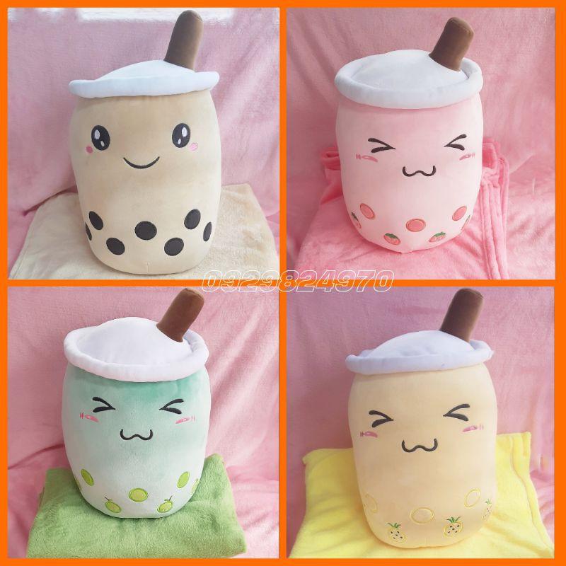 trà sữa kèm mền