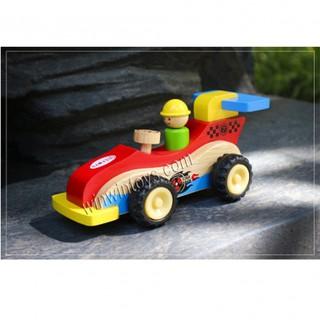 Đồ chơi gỗ Winwintoys - Xe đua địa hình 67302