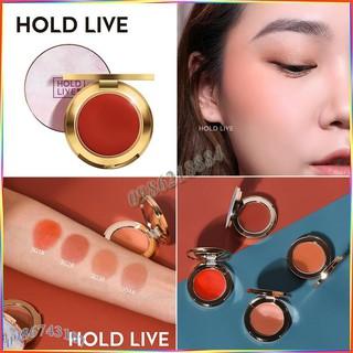Phấn má đơn sắc Hold Live Pro Silk Satin Fog Blusher ASH10 thumbnail