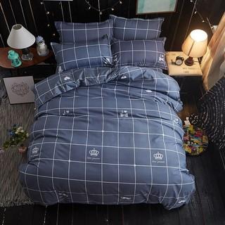 Ga gối caro vương miện sang chảnh cho phòng ngủ của bạn